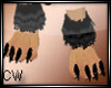 Anyskin Fur Feet Male