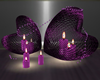 Romance Basket Candles