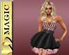 Pink & Bk Sweet Dress