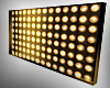 GOLD Wall of Lights