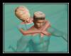Couple Swim