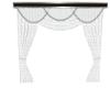 Elite White Lace Curtain