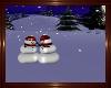 NPC Snowman Couple