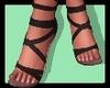 n.k strappy black heels