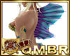 QMBR Fin Mermaid Back P