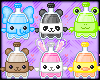 Cute Soda Pop Animals