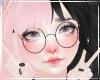 Cute Kawaii Pastel Black Pink Fistnet Peace