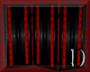 red & black screen