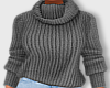 Winter Sweater-Gray