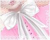 White Lolita Bow