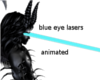 animated eye blue lasers