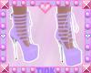 Babydoll Heels   Purple