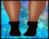 Dark Red Socks