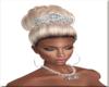 Bride Hair W/Crown 1