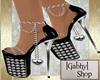 Shania Glitter Platforms
