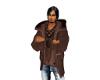 Manly Man Brown Coat