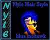 NYLE STYLE BLUE MOHAWK