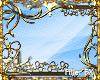 "LK"" Golden VINES Frame"