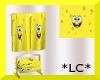*LC* Spongebob Towels