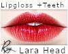 Coral Lips for Lara Head