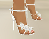 Wedding White Satin Heel