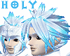 Silver & Sapphire Hair