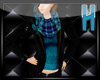 ~H~TartanScarf&Jacket 1