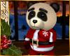 I~Panda Santa Bear*Red