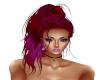 Hair Red Purple Shasa
