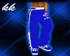 ![KK] BLUE ADIDAS PANTS