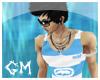 [GM] White&Blue Top