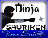 Ninja Shuriken Throwable