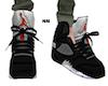 NM basket Jordan shoes