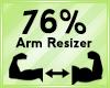 Arm Scaler 76%