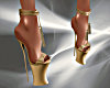 T- Sexy Shoes gold