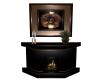 Tinsel Fireplace