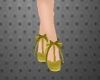 Green Silk Shoes