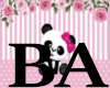 [BA] Girls Panda Shoes