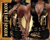 [L] WOLF GOLD Dress F