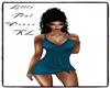 BV Little Teal Dress RL