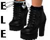 TIEUP ANKLE BOOTS