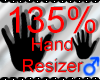 *M* Hand Scaler 135%