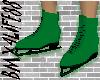 Ice Skates Green