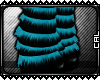 [c] Kyp Legwarmer Blue