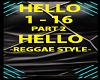 HELLO REGGEA STYLE - P2