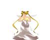 Satin glitter gown