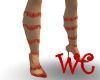 [WC]~Redlace Heels~