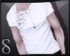 -S- White Lace Shirt