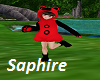 Bear Outfit Red/Black