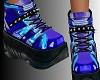 W! Blue Sneakers